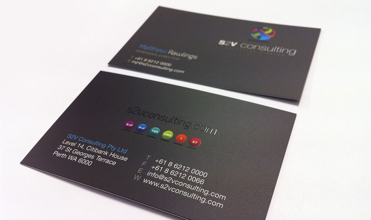Design Perth Stationery Business Cards Letterheads